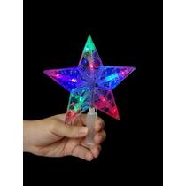 Estrela Led Branco Ponteira Arvore Natal Decoracao Casa