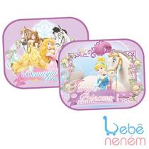 Protetor Solar Duplo P/ Carro. Disney Princesas. Bebê Neném