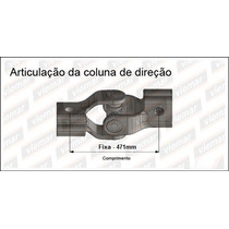 Coluna Direcao Fiat Uno/premio/elba 85/