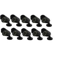 10 Cameras Cftv Infravermelho Ccd 1/3 Day Night 1000 Linhas