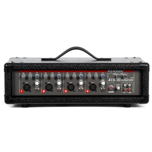 Mixer Amplificado Phonic Powerpod 410 T1 Com 100 W E 4 Canai