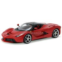 Ferrari Laferrari Bburago 1:18 Vermelho 16001-vermelho