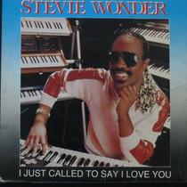 Stevie Wonder - I Just Called To Say Compacto De Vinil Raro