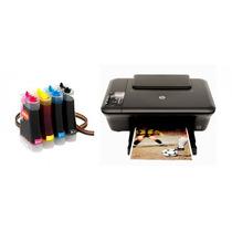 Bulk Ink Para Impressora Hp 2050 Com Presilhas Especiais