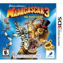 Madagascar 3 The Video Game 3d Nintendo 3ds Jogo Novo