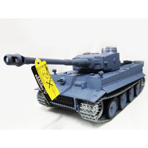 Tanque De Guerra Rc German Tiger I Upgrade 3818-1-t Completo