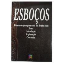 Esboços - Livro José Elias Croce Mensagem P Cada Dia Do Ano