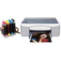 Bulk Ink Para Impressora Hp 1210 Com Presilhas Especiais