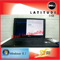 Notebook Dell Latitude 110l Windows 8.1 Office 2010