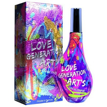 Perfume Love Generation Arts Feminino 60ml Eau De Parfum