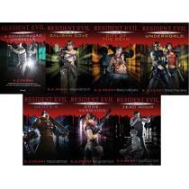 Resident Evil Kit 7 Livros Coleção Completa Perry Português