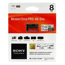 Cartao De Memoria Pro Duo Sony 8gb - Original Na Embalagem