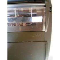 Máquina De Escrever Brother Ax 325 - Elétrica