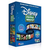 Coleção Disney Escola Mágica - 1º Ao 5º Ano - Acompanha Cd