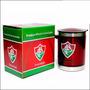 Caneca Termica Fluminense Oficial Aço Inox Tampa Tricolor