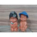 Lote Com 4 Bonecas Nuas  Negras Dos Anos 70 Coleção Rara