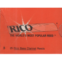 Palheta Rico Clarone Baixo #3