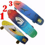 Skate Longboard Hang Ten Rodas:70x42mm 78a -pdv