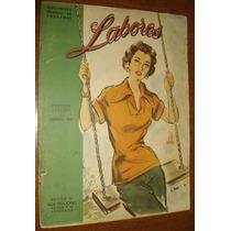 Revista Feminina Moda Antiga Anos 40 Propagandas Com Moldes