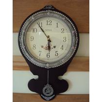Relógio Parede Pendulo Sx Westminster Novo Garantia 3 Anos