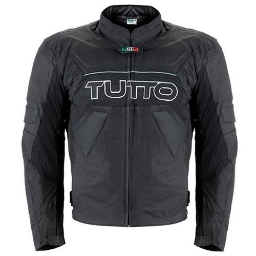 Jaqueta Tutto Tifon 2 Couro Preto 48 ( p / s ) Rs1