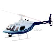 Helicóptero Bell 206 New Ray 1:34 Branco - 3424-1586-2