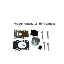 Reparo Kit Bomba Água Motor Popa Yamaha 9.9 - 15hp 4 Tempos