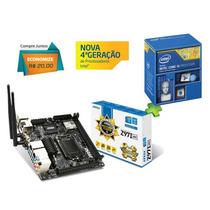 Kit Placa Mãe Msi Z97i + Processador Intel Core I5 4590