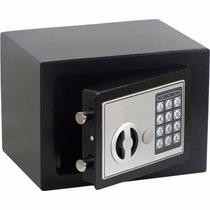 Mini Cofre Digital Eletrônico Aço C/ Chave - Frete Grátis
