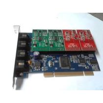Placa Digium Tdm400 2fxo/2fxs Asterisk Elastix Trixbox, Etc