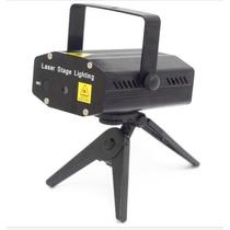 Projetor Laser Holografico 100mw 50 Mw Luzes Segue A Música