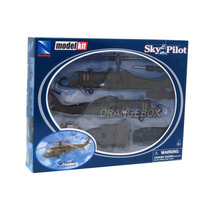 Kit Montar Helicóptero Sikorsky Uh-60 New Ray 1:60 3423-3