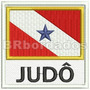 Bbr112 Bandeira Pará Pa Colete Mochila Patch Bordado 9x9 Cm