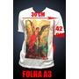 Camiseta Personalizada Com Estampa 30x42 - Grande