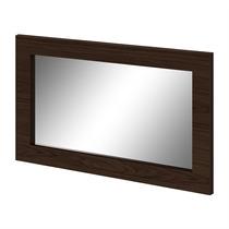 Quadro Com Espelho Búzios Imbuia Touch - Lopas
