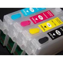 Kit Epson Recarregavel T10tx200 Tx210 Tx220 Tx300f Tx400 410