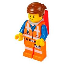 Boneco Lego Emmet - Minifigura Do Filme Aventura Lego