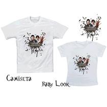 Camiseta Supernatural Dean Sam - Sobrenatural