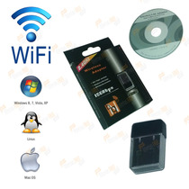 Adaptador Receptor Wireless Usb Wifi 150mbps Pc Notebook