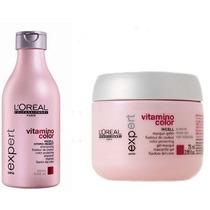 Loreal Sh Vitamino Color 250ml + Masc Vitamino Color 200ml