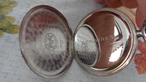 5a830363203 Lindo E Antigo Relógio De Bolso Suiço Marca Longines . Preço  R  1100 Veja  MercadoLibre