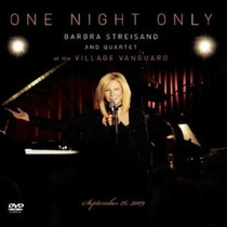 Cd + Dvd Barbra Streisand One Night Only At The Village Imp
