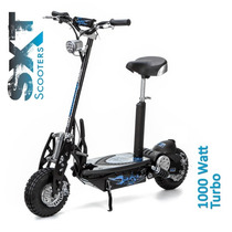Scooter Elétrico 1000w 36v Sxt Eppower Patinete - Preto