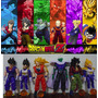 Bonecos Dragon Ball Z Kit 6 Figuras Anime Articulados Manga