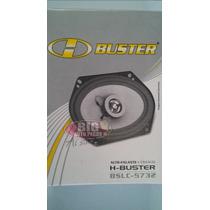 Alto Falante H-buster 5x7 Coaxial Bslc 5732 Light 25w Rms