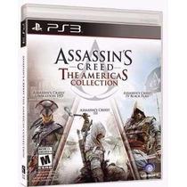 Assassins Creed 3 + 4 Black Flag + Liberation Hd - Ps3