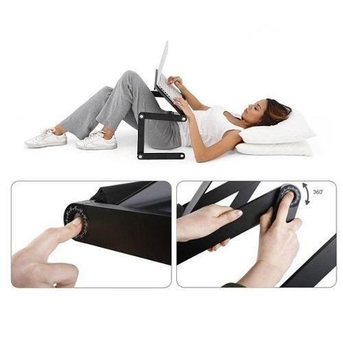 Mesa Notebook Com 2 Cooler Mousepad Cabo Usb Frete Gratis