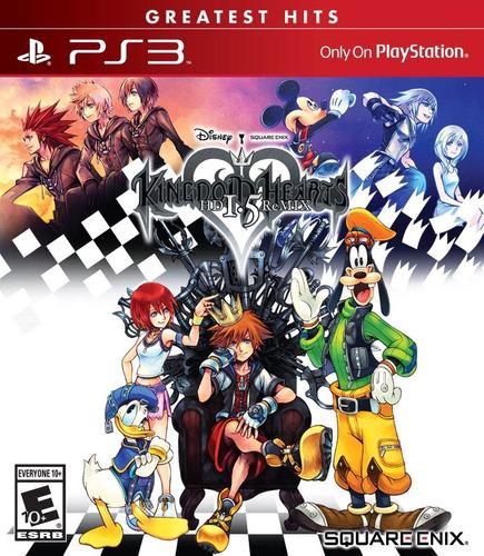 Kingdom Hearts Hd 1.5 Remix Lacrado Ps3 Pronta Entrega Sony