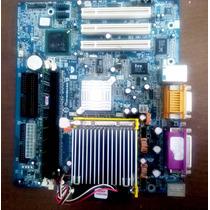 Kit Placa Mãe Ddr1 478 Gigabyte 8i845 Gvm Rz