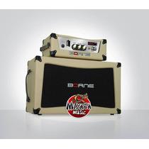 Cabeçote Valvulado Borne Classico T7 + Caixa 2x12 C/ Sovtek